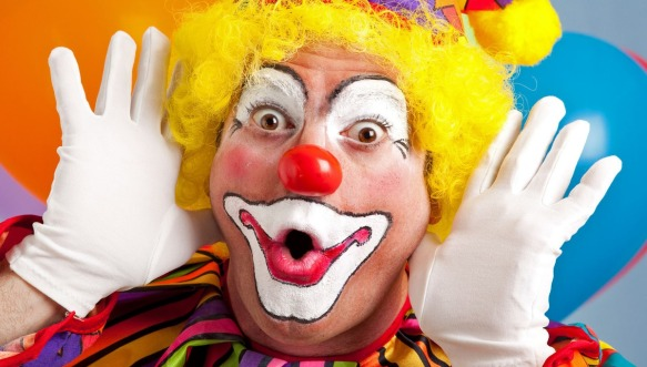 birthday clown